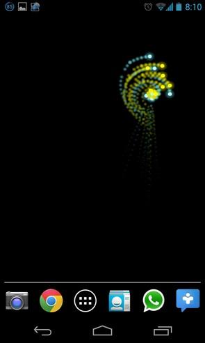 Smart Particle Live Wallpaper живые обои на смартфоны Android