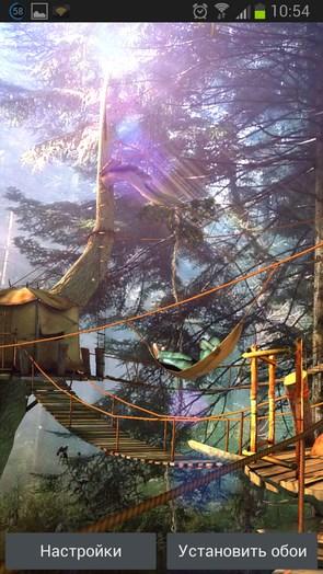 Tree Village 3D Pro – лесное царство для Галакси С4