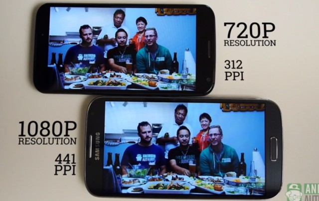Видео - Moto X vs Samsung Galaxy S4