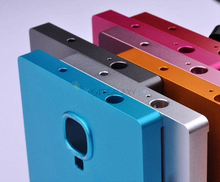 Металлический чехол для Samsung Galaxy S4 - разноцветный