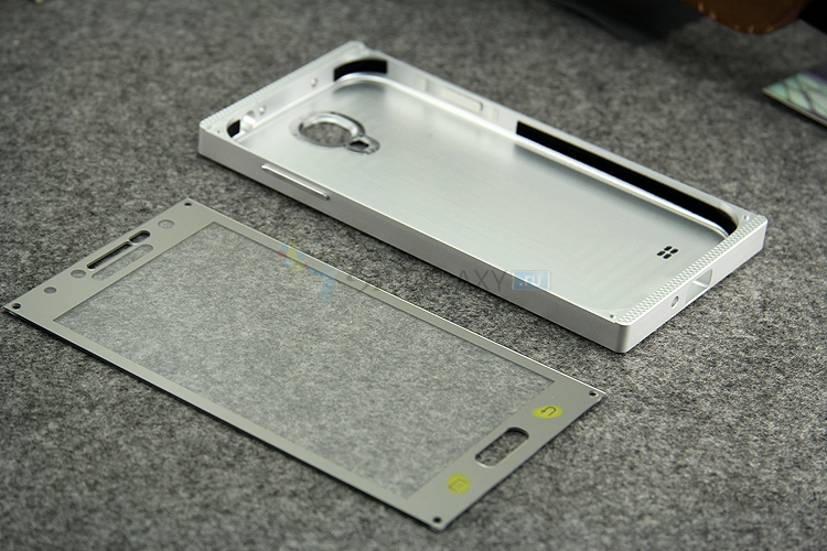 Металлический чехол из цельного куска алюминия для Samsung Galaxy S4