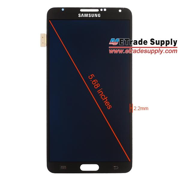 Samsung Galaxy Note III - передняя панель