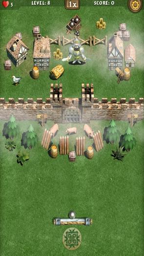 Игра Fantasy Breaker - осада крепости
