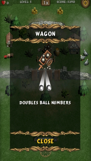 Игра Fantasy Breaker - бонусы