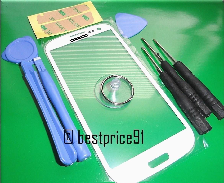 Стекло для Galaxy S4, S3 и Note 2 (ремонтный набор)