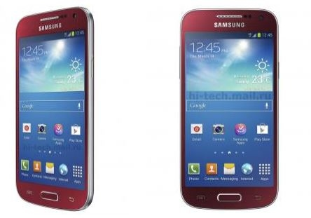 Galaxy S4 Mini Scarlet Dawn (Алый Рассвет)
