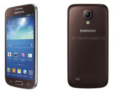 Samsung Galaxy S4 Mini Bronze Autumn (Бронзовая Осень)