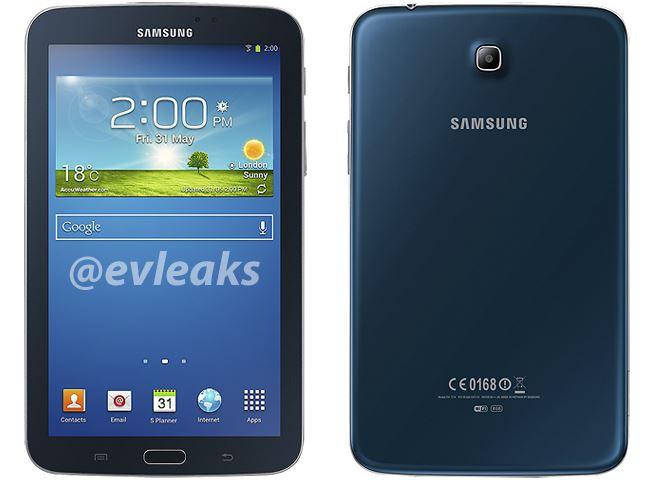 Samsung Galaxy Tab 3 7.0 в синем цвете