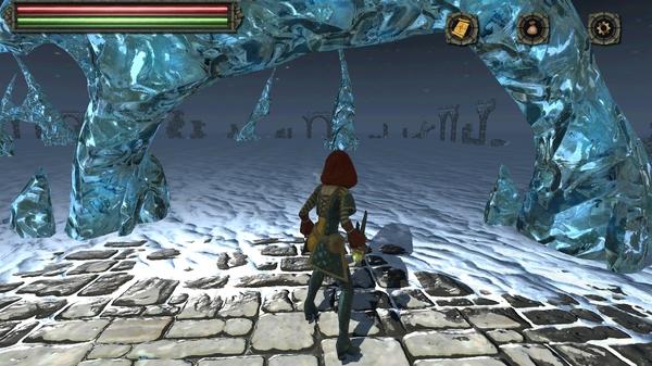 Игра Tainted Keep 3D на Tegra 4