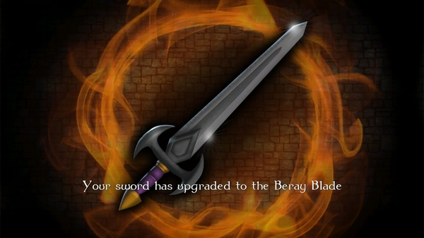 Игра Tainted Keep 3D для Android - апгрейд меча