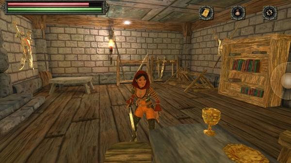 Экшен Tainted Keep 3D - героиня