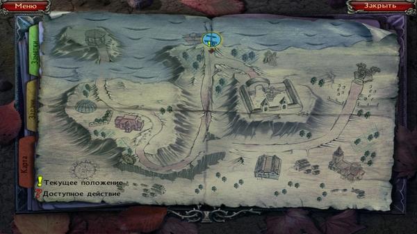 Twisted Lands: Origin - карта