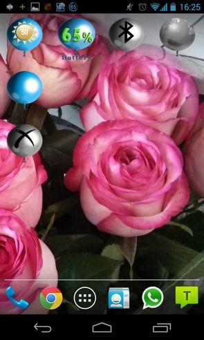 BalloON/OFF Widget animated - виджеты на Самсунг Галакси С4