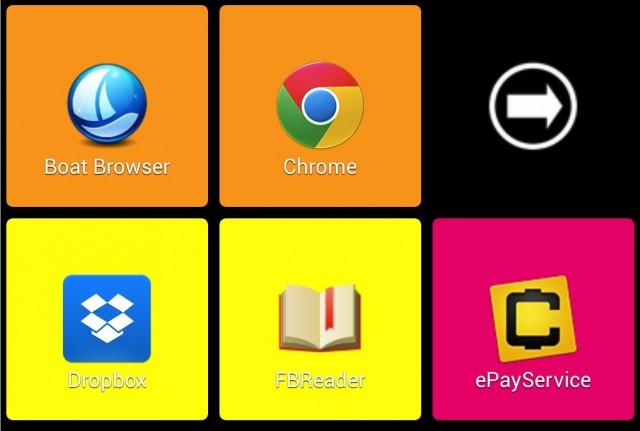2ndHOME Launcher - панель с приложениями для Galaxy S4
