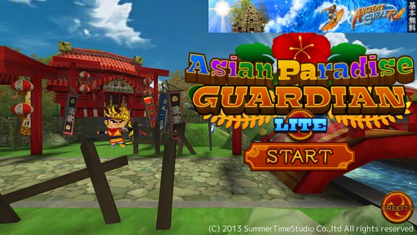 Asian Paradise Guardian – воины древнего Китая для Galaxy S4