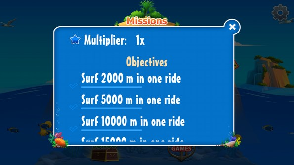 Banzai Surfer – акулья волна для Samsung Galaxy S4
