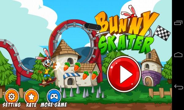 Bunny Skater - игра на смартфоны Samsung Galalxy S4