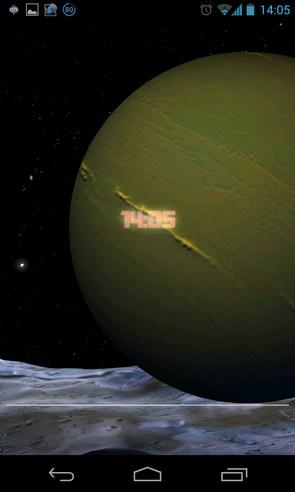 Earth Live Wallpaper - интерактивные обои на Galalxy S4