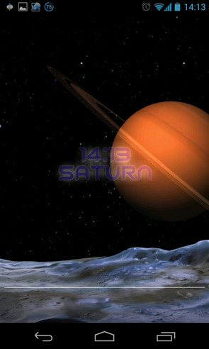 Earth Live Wallpaper - анимированные обои на Samsung Galalxy S4