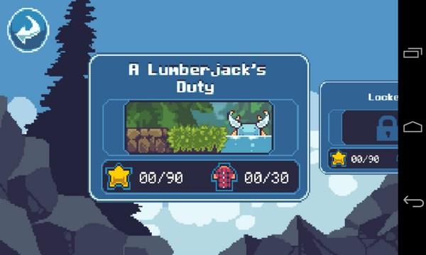 Lumber Jacked - аркада на Sasung Galalxy S4