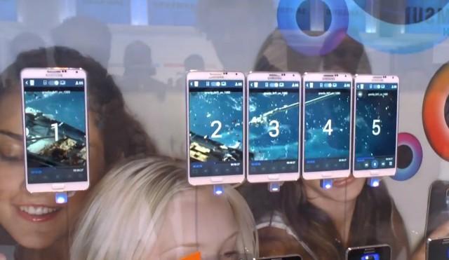 Использование функции MultiVideo на Galaxy Note III
