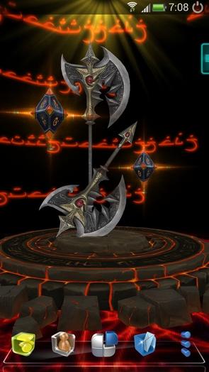 """""""Next"""" Sword - обои с мечем и алтарем"""