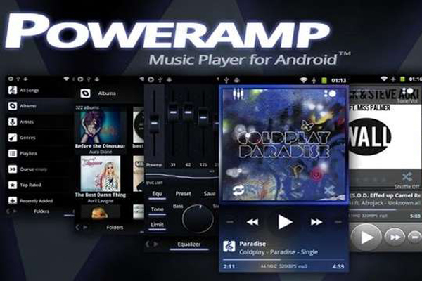 Poweramp – мощный аудио плеер для Samsung Galaxy S4