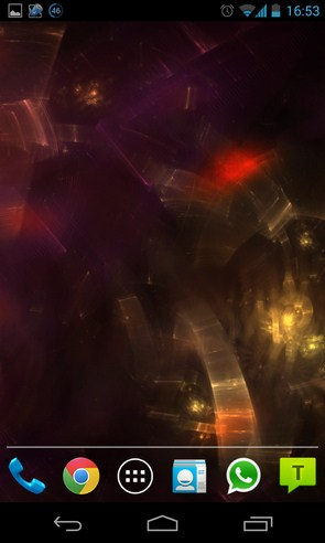 Prismatic Dreams - интерактивные обои  Галакси С4