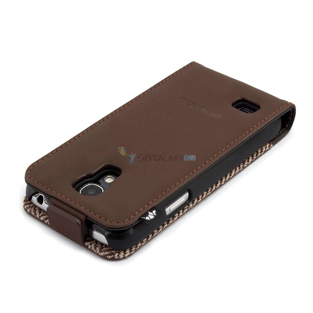 Кожаный чехол для Samsung Galaxy S4 Mini