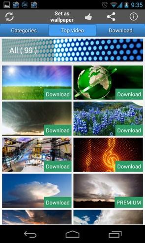 Real Video Live Wallpaper - живые видео-обои на Android