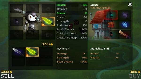 Reaper - прокачка героя