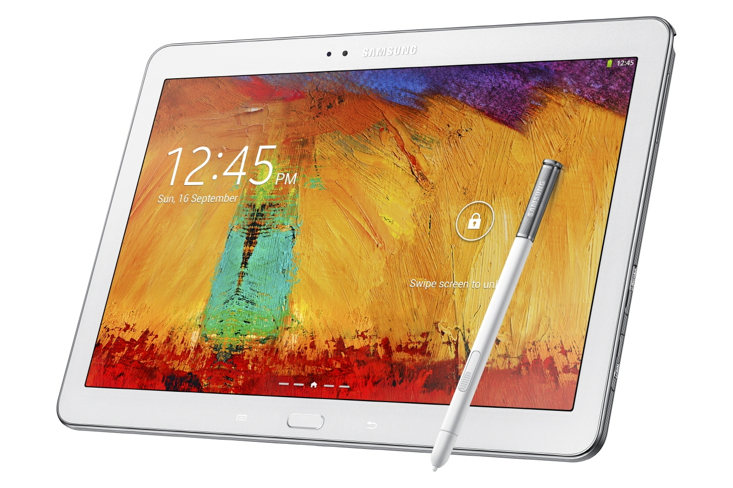 Samsung Galaxy Note 10.1 (2014) белого цвета
