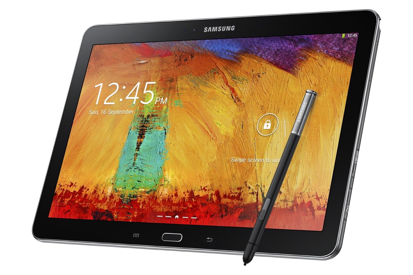 Samsung Galaxy Note 10.1 (2014) - черного цвета