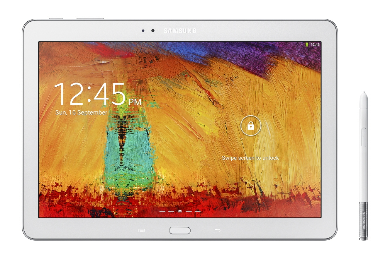 Планшет Samsung Galaxy Note 10.1 (2014) - белый