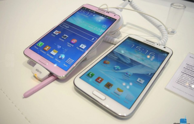 Сравнение Samsung Galaxy Note 2 vs Galaxy Note 3