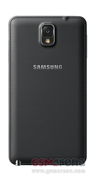 Фотография Samsung Galaxy Note 3 - задняя крышка черного
