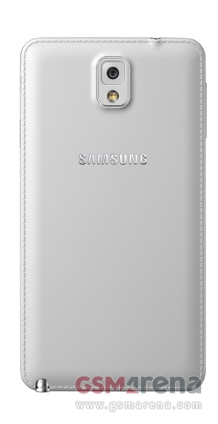 Фотография Samsung Galaxy Note 3 - задняя крышка белого