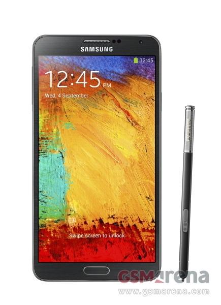 Фотография Samsung Galaxy Note 3 - черный