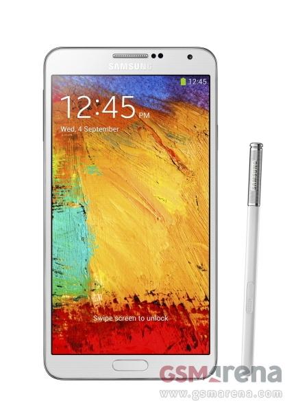 Фотография Samsung Galaxy Note 3 - белый
