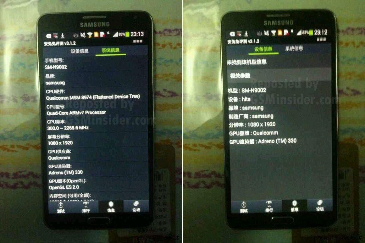 Samsung Galaxy Note III SM-N9002 Dual Sim