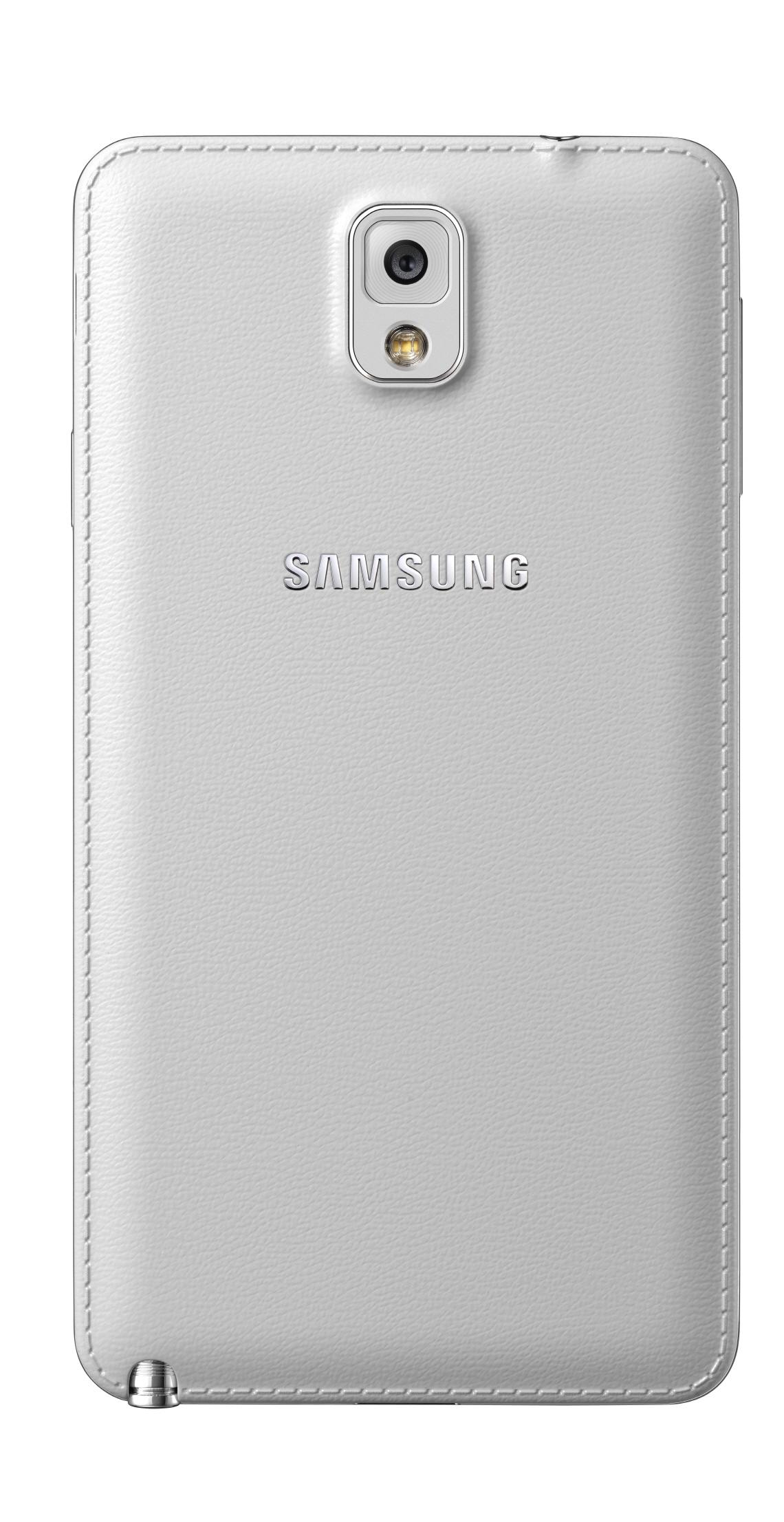 Задняя крышка Samsung Galaxy Note III - белая