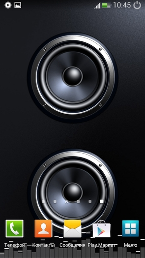 Screen Speaker Music Wallpaper для Android