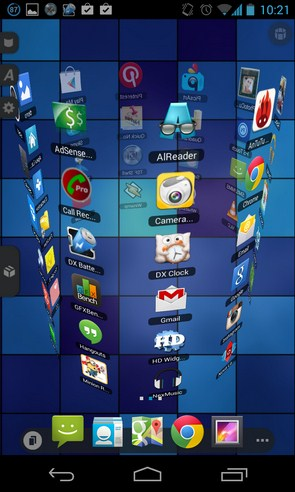 TSF Shell - лаунчер на смартфон Galalxy S4