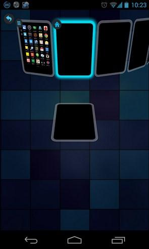 TSF Shell - интерфейс на Samsung Galaxy S4