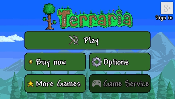 Terraria для Samsung Galaxy S4, S3 Note 3 Tab 3