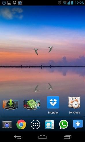 Tranquility Live Wallpaper - анимированные обои на Samsung Galalxy S4