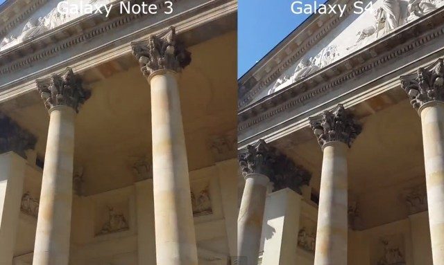 Сравнение видео с камеры Galaxy Note 3 и Galaxy S4