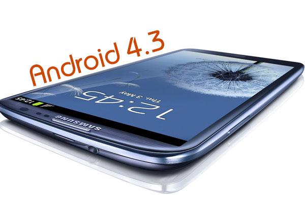 Android 4.3 на Samsung Galaxy S3 возможно будет скоро
