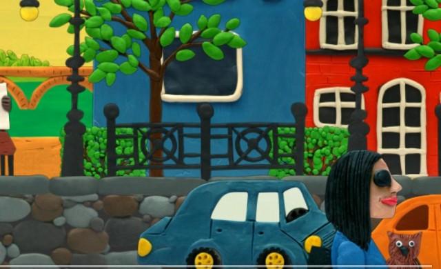 plasticine city - интерактивные обои на Samsung Galalxy S4
