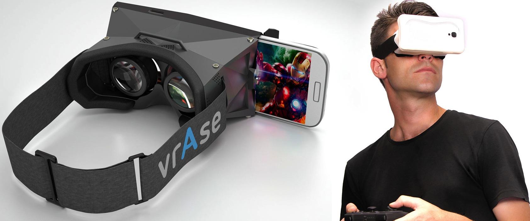 vrAse - виртуальная реальность в Galaxy S4